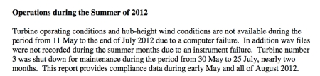 Will Fox Islands Wind do better with compliance noise measuring THIS summer?